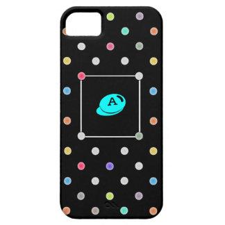 Polka-dot initial Iphone4 iphone case-mate case