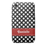 Polka Dot iPhone 3g 3gs Case Mate Cover