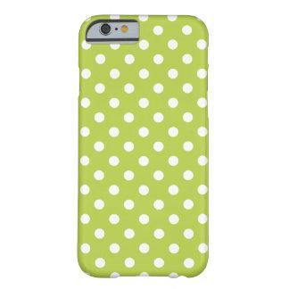Polka Dot iPhone 6 case in Tender Shoots Green