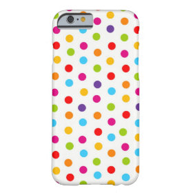 Polka Dot iPhone Case Barely There iPhone 6 Case