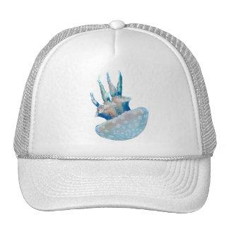 Polka Dot Jelly Fish Trucker Hat