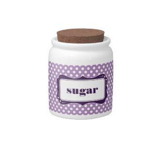 Polka Dot Kitchen Jar Candy Jars