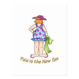 Polka Dot Lady Postcard