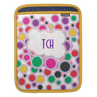 Polka dot love sleeve for iPads
