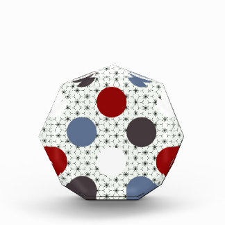 Polka Dot Medley multiple products selected Acrylic Award