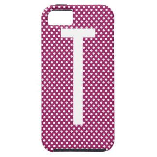 Polka Dot Monogram iPhone 5 Case