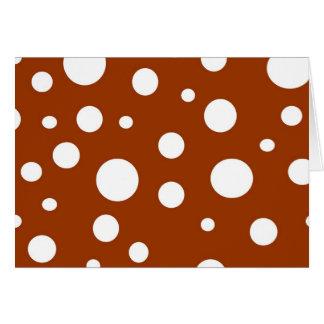Polka Dot Notecard Greeting Card