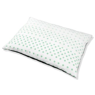 Polka Dot Ombre Pet Bed
