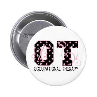 Polka Dot OT Pinback Button