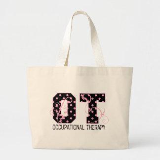 Polka Dot OT Large Tote Bag