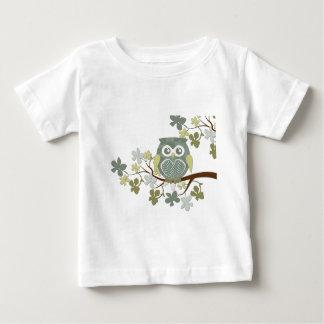 Polka Dot Owl in Tree Baby T-Shirt