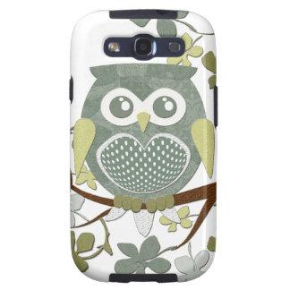 Polka Dot Owl in Tree Galaxy SIII Covers
