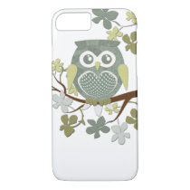 Polka Dot Owl in Tree Case
