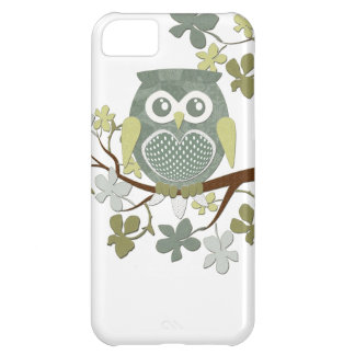 Polka Dot Owl in Tree Case iPhone 5C Case