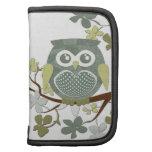 Polka Dot Owl in Tree Folio Planner