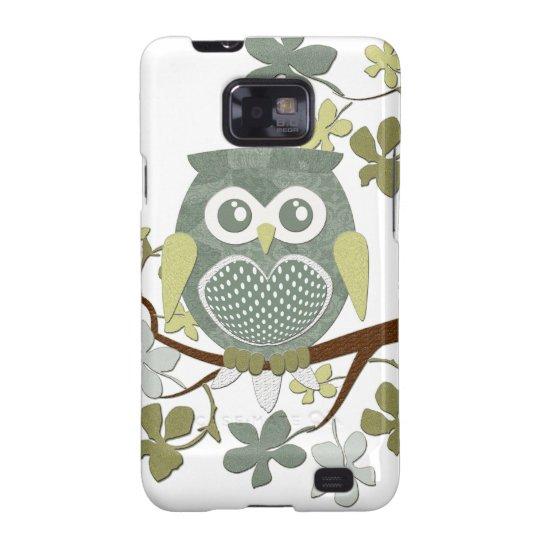 Polka Dot Owl in Tree Galaxy S2 Cover