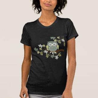Polka Dot Owl in Tree Tee Shirt