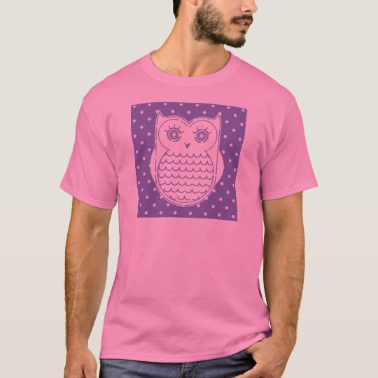 Polka Dot Owl T-Shirt