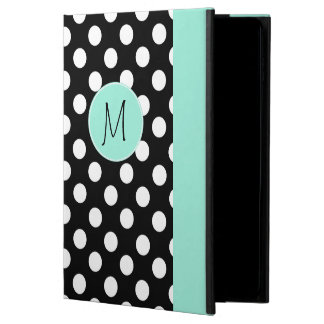 Polka Dot Pattern and Monogram iPad Air 2 Case