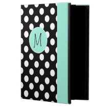 Polka Dot Pattern and Monogram iPad Air 2 Case Powis iPad Air 2 Case