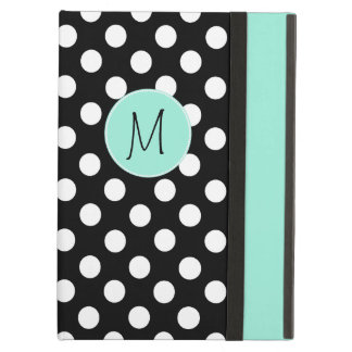 Polka Dot Pattern and Monogram iPad Air Case