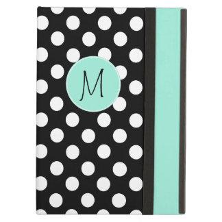 Polka Dot Pattern and Monogram iPad Air Case