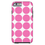 Polka Dot Pattern Design Hot Pink Polka Dots iPhone 6 Case