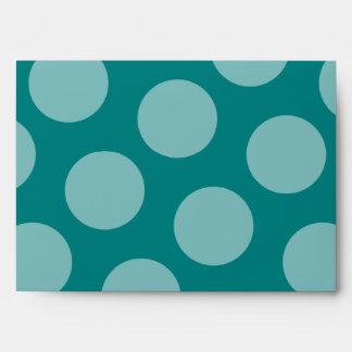Polka Dot Pattern Envelope