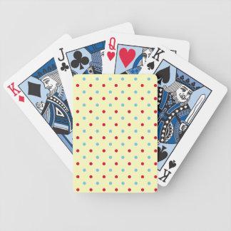 Polka Dot Pattern Playing Cards