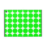 Polka Dot Pattern Print Design : Lime Polka Dots Cases For iPad Mini