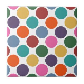 Polka Dot Pattern Tile