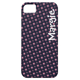 Polka Dot Personalized iPhone Case Template iPhone 5 Case
