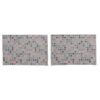 Polka Dot Pillowcases (Reversible Mom Collection)