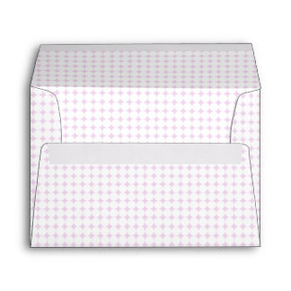 Polka Dot Pink envelope