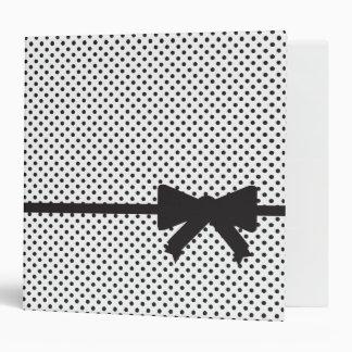 "Polka Dot Present ""2"" Binder"