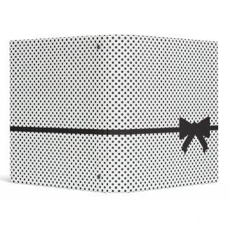 Polka Dot Present binder