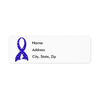 Polka Dot Ribbon ARDS Label