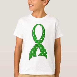 Polka Dot Ribbon Cerebral Palsy T-Shirt