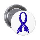 Polka Dot Ribbon CFS Pin