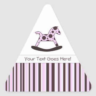 Polka Dot Rocking Horse: Message Stickers