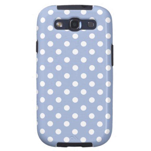 Polka Dot Samsung Galaxy S3 Case in Lavender