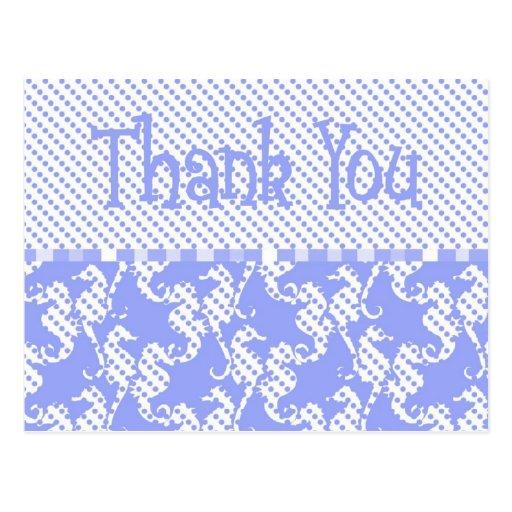 polka dot searhose card