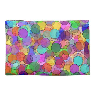 Polka Dot Stained Glass Travel Accessory Bags