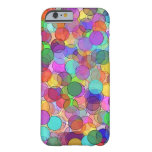 Polka Dot Stained Glass Barely There iPhone 6 Case