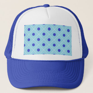 Polka Dot Trucker Hat