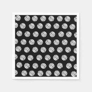 Polka Dot Volleyball Patten Paper Napkins