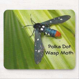 Polka Dot Wasp Moth Mouse Pad
