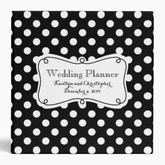 Polka Dot Wedding Planner Binder