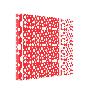 Polka Dot World Canvas Print