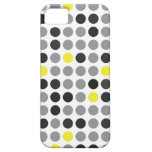 Polka Dot Yellow and Gray iPhone 5 Cover